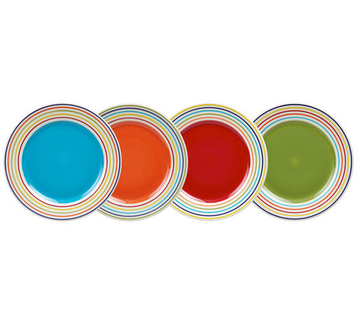 DESSERTTELLER 20,7 cm  - Multicolor, KONVENTIONELL, Keramik (20,7cm) - Landscape