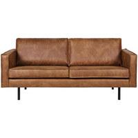 2,5-SITZER in Textil Braun - Schwarz/Braun, Design, Textil/Metall (190/85/86cm) - Ambia Home