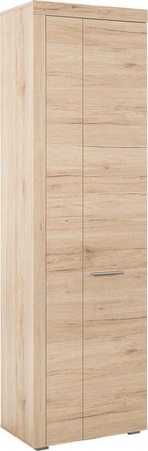 GARDEROB - silver/ekfärgad, Design, träbaserade material/plast (60/198/35cm) - Low Price