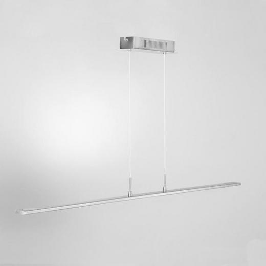 LED-HÄNGELEUCHTE - Chromfarben, Design, Kunststoff/Metall (120/8/150cm) - Joop!