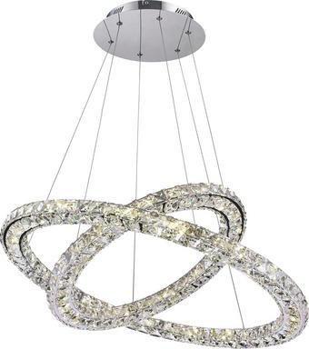 LED-HÄNGELEUCHTE - Design, Glas/Metall (72/160cm)
