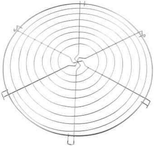 TORTENPLATTE - Edelstahlfarben, Basics, Metall (35cm)