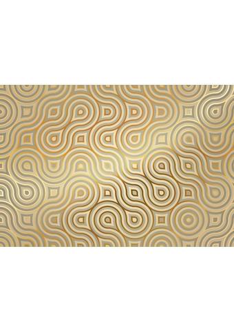 FOTOTAPETA MEANDER A, 8-940 - zlata/bež, Basics, papir (254/368cm)
