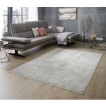 VINTAGE-TEPPICH Mabelle  - Currygelb/Silberfarben, Design, Textil (80/150cm) - Dieter Knoll