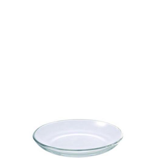 SPEISETELLER Glas - Klar, Basics, Glas (17/2.5/17cm) - LEONARDO