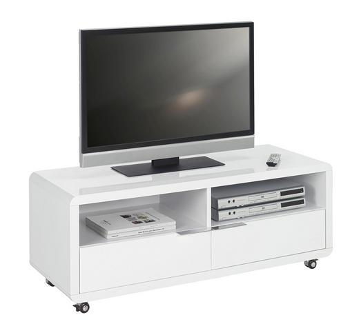TV-ELEMENT Weiß  - Weiß, Design, Kunststoff (120/46/45cm) - Xora