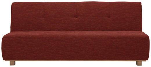 SCHLAFSOFA in Textil Braun - Braun, Design, Holz/Textil (202/88/103cm) - Novel