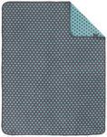 SCHMUSEDECKE 75/100 cm - Türkis/Grau, Textil (75/100cm) - MY BABY LOU