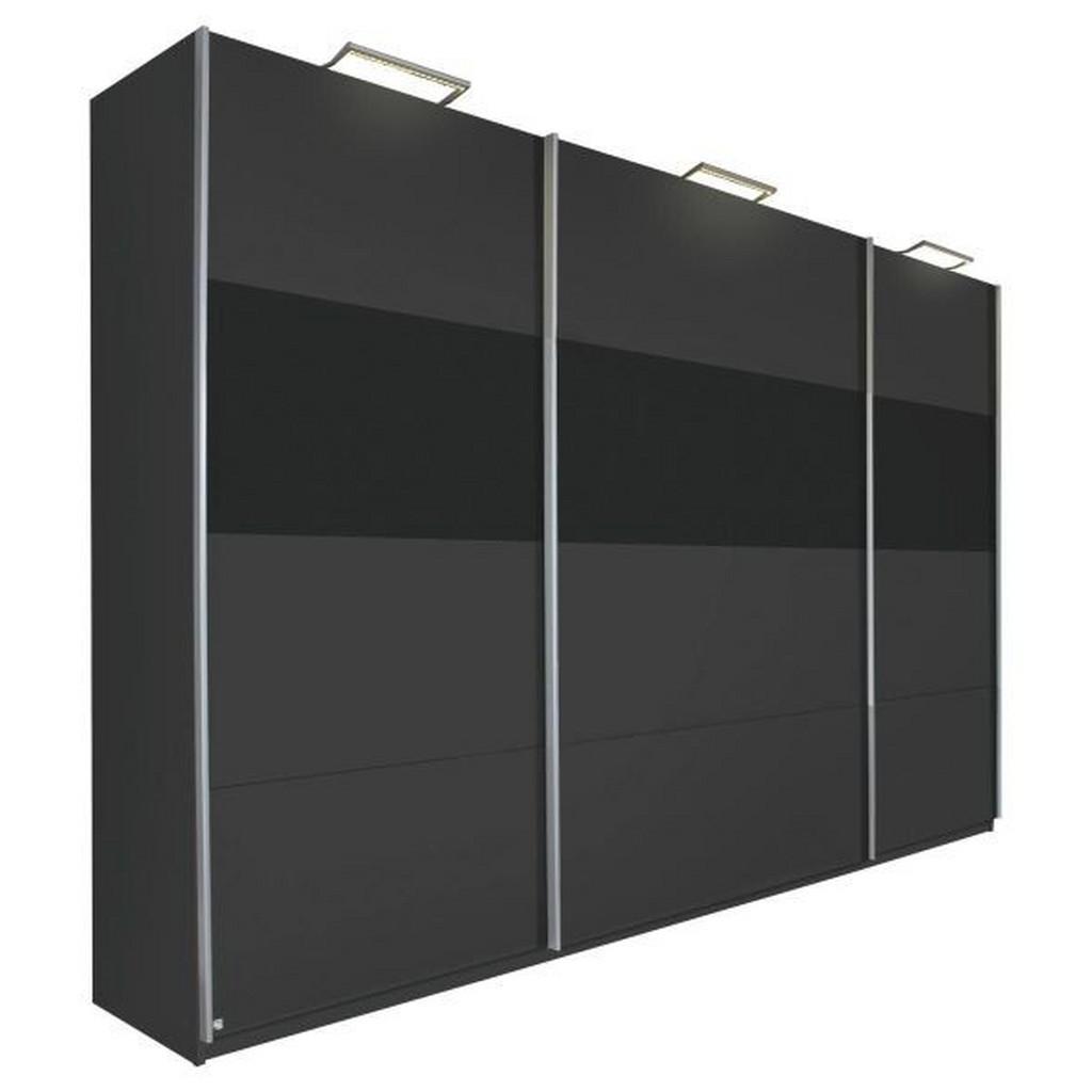 CARRYHOME SCHWEBETÜRENSCHRANK 3 -türig Grau bei XXXL Einrichtungshäuser - Shop