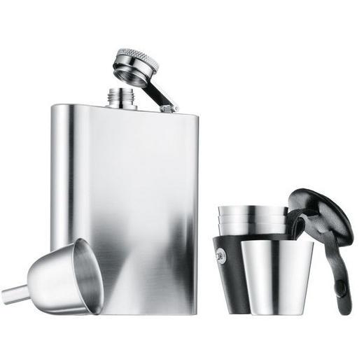 FLACHMANNSET - Edelstahlfarben, Basics, Metall (10/13cm) - WMF