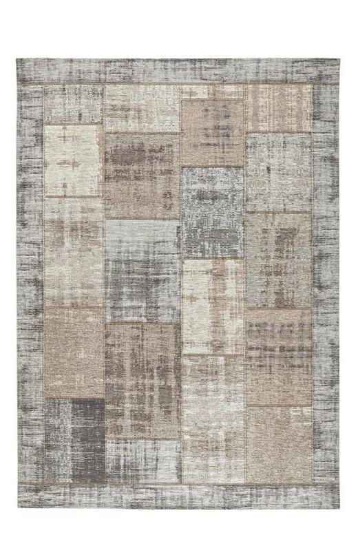 FLACHWEBETEPPICH  60/90 cm  Beige, Grau - Beige/Grau, Basics, Textil (60/90cm) - Novel