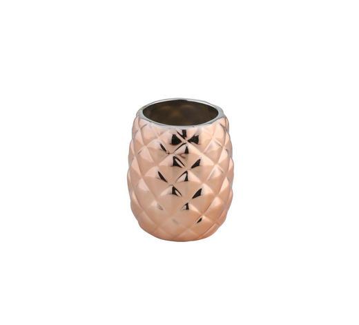 ZAHNBÜRSTENHALTER - Kupferfarben, Keramik (9/10,5cm)