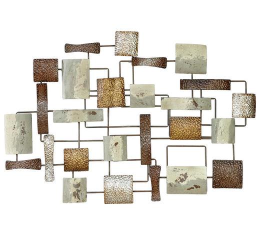 WANDDEKO Metall  - Multicolor, Basics, Metall (105,5/3,5/71cm) - Ambia Home