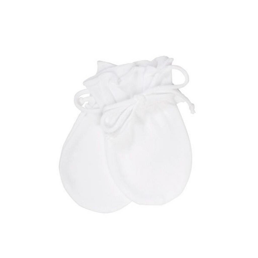 Weiße Babyhandschuhe von Sterntaler