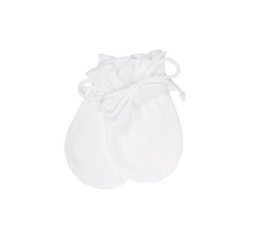 BABYHANDSCHUHE - Weiß, Basics, Textil (50null) - Sterntaler