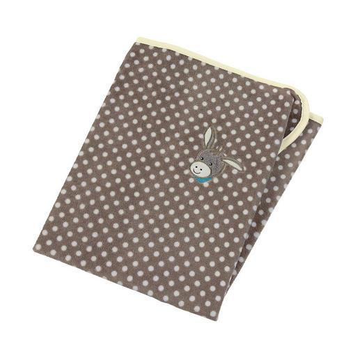 SCHMUSEDECKE - Braun, Basics, Textil (75/100cm) - Sterntaler