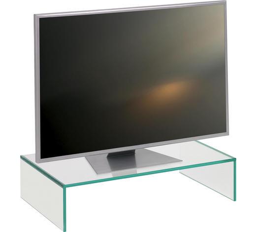 TV-AUFSATZ  Glas  Klar  - Klar, Design, Glas (60/14/35cm) - Boxxx