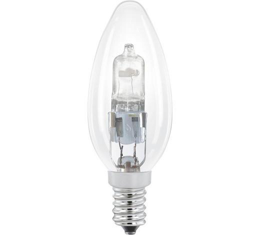Halogenleuchtmittel E14  - Klar, Basics, Glas (9,8cm) - Homeware