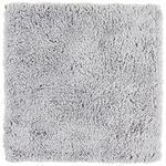 BADEMATTE  60/60 cm  Silberfarben   - Silberfarben, Basics, Kunststoff/Textil (60/60cm) - Ambiente