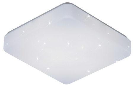 PLAFONJERA ZA KUPATILA - Bela, Konvencionalno, Plastika (37/7,5/37cm) - Celina