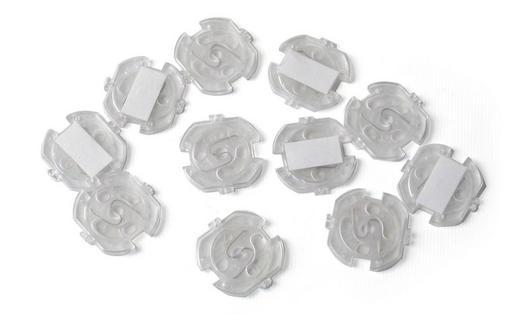 STECKDOSENVERSCHLUSS - Transparent, Basics, Kunststoff (10/5/1cm) - Reer