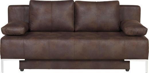 TROSJED NA RAZVLAČENJE - boje kroma/smeđa, Design, tekstil/metal (193/85/89cm) - Carryhome