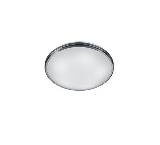 LED-DECKENLEUCHTE   - Weiß/Nickelfarben, Design, Kunststoff/Metall (31,0/9,0cm)