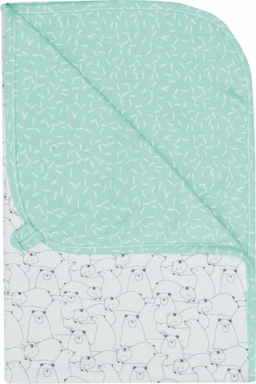 Baby Multi-Tuch - Schwarz/Weiß, Textil (100/75/0.5cm) - Bebe Jou