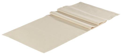 TISCHLÄUFER Textil Leinwand, Struktur Beige 40/150 cm - Beige, Textil (40/150cm) - NOVEL