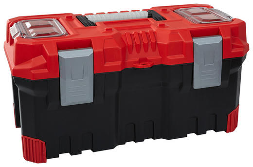 Werkzeugbox - Rot/Schwarz, Basics, Kunststoff (29,6/25,8/24cm)
