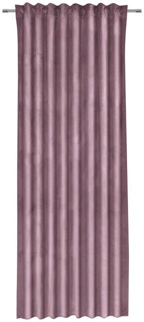 GARDINLÄNGD - rosa, Klassisk, textil (135/255cm)