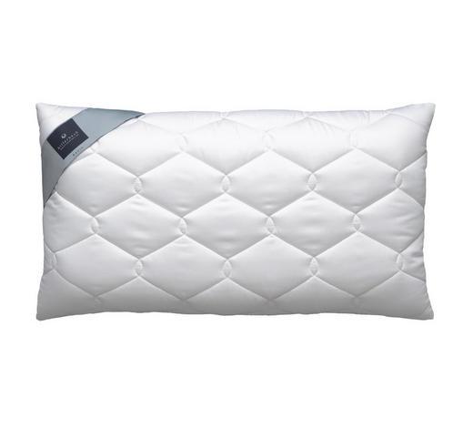 ANATOMSKI JASTUK - bijela, Basics, tekstil (40/80cm) - Billerbeck