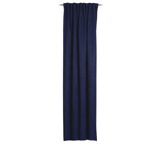 FERTIGVORHANG  blickdicht   135/245 cm  - Blau, Basics, Textil (135/245cm) - Esposa