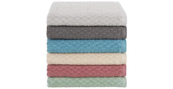 Handtuch Elena - Mintgrün, MODERN, Textil (50/100cm) - Luca Bessoni