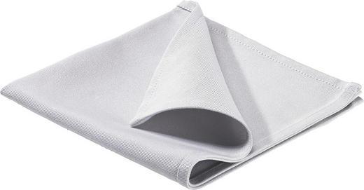 SERVIETTE 40/40 cm - Grau, Basics, Textil (40/40cm)