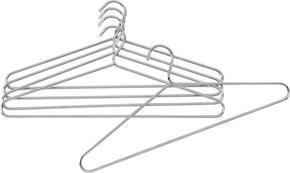 SET GALGAR - kromfärg, Basics, metall (42/18cm) - Low Price