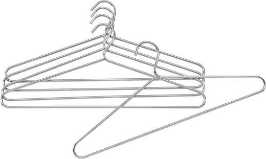 SADA RAMÍNEK NA ŠATY - barvy chromu, Design, kov (42/18cm) - Carryhome