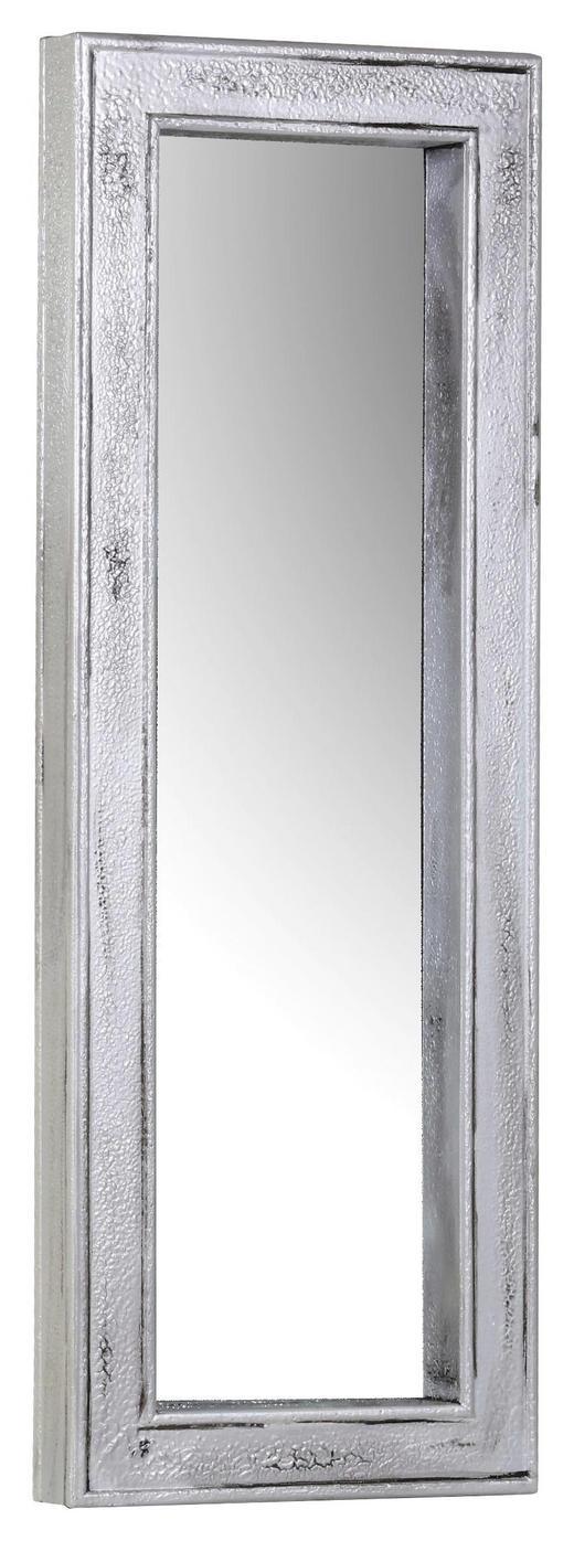 WANDSPIEGEL Tanne - Silberfarben, Design, Glas/Holz (51/140/9cm) - Carryhome