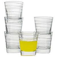 GLÄSERSET 6-teilig - Klar, Glas (17,4/9,8/26cm) - LEONARDO