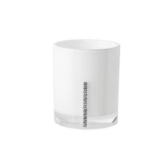 MUNDSPÜLBECHER Kunststoff - Weiß, Basics, Kunststoff (7/8.5cm) - Sadena