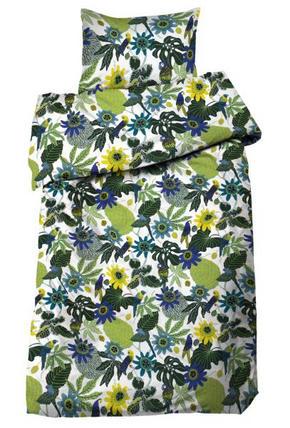 PÅSLAKANSET - blå, Design, textil (50/150/60/210cm)