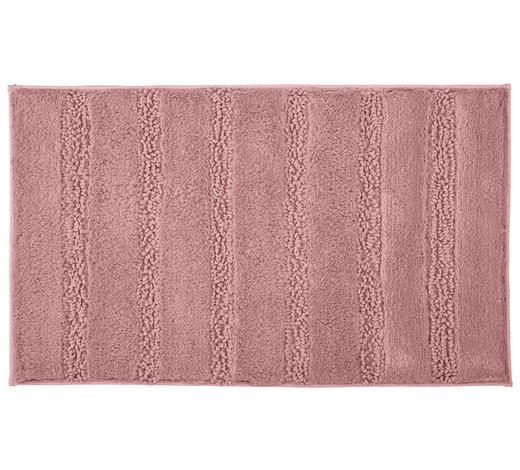 BADTEPPICH in Rosa 70/120 cm - Rosa, KONVENTIONELL, Kunststoff/Textil (70/120cm) - Kleine Wolke