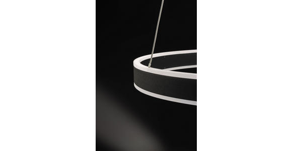LED-HÄNGELEUCHTE 60/150 cm  - Anthrazit, Design, Kunststoff/Metall (60/150cm) - Ambiente
