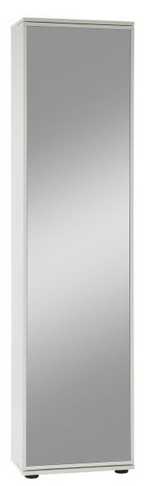 ORMAR ZA OBUĆU - bijela, Design, drvni materijal (47/190/29,5cm) - BOXXX