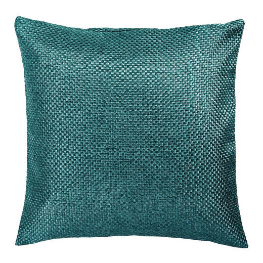 KISSENHÜLLE Petrol 50/50 cm - Petrol, Design, Textil (50/50cm) - Novel