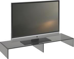 TV-HYLLA - grå, Design, glas (110/14/35cm) - Boxxx