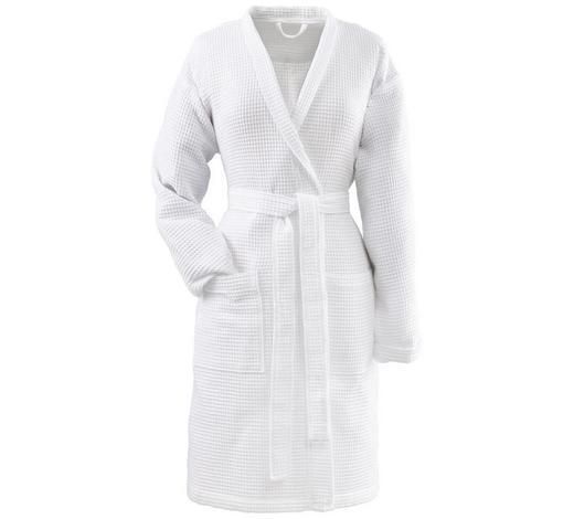 DAMENKURZBADEMANTEL XL  Weiß - Weiß, Basics, Textil (XLnull) - Vossen