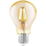 LED-Leuchtmittel E27 - Klar, Basics, Metall (10,6cm)