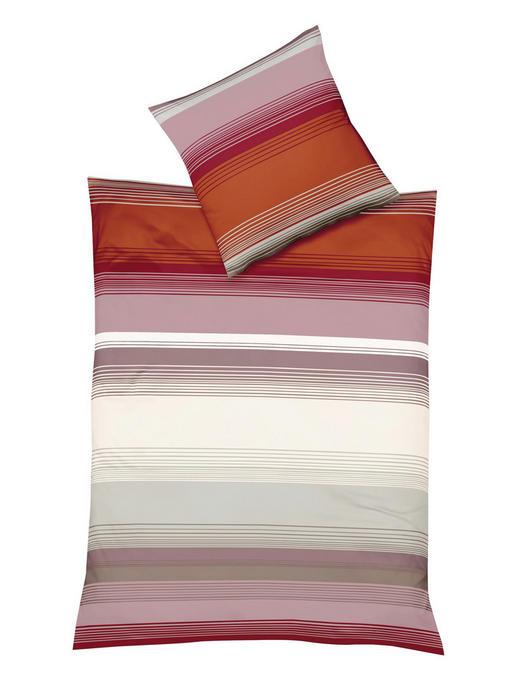BETTWÄSCHE Biber Orange 135/200 cm - Orange, Textil (135/200cm) - Fleuresse