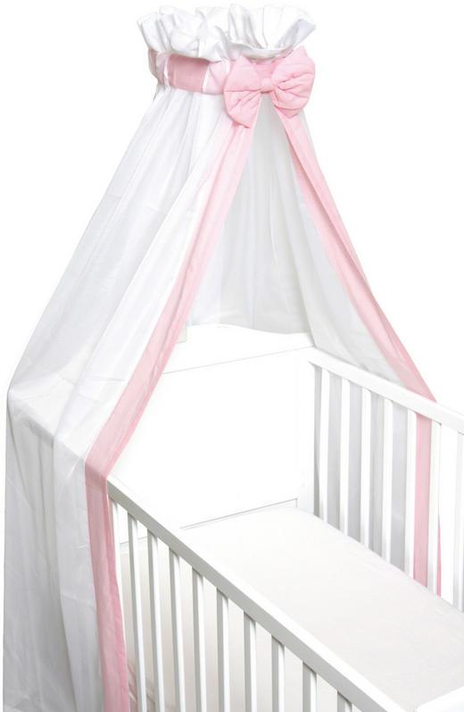 BALDAHIN - roza/bijela, Basics, tekstil (20cm) - Fillikid